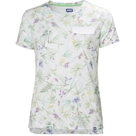 Helly Hansen Lomma T-Shirt Damen white print